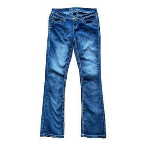 Ariya Jeans bootcut Jeans bling embellished - 5/6